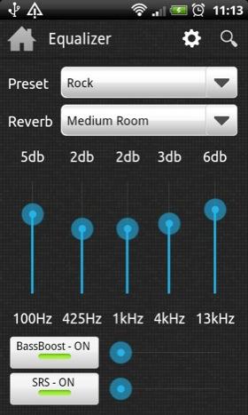 N7Player Android app screenshot