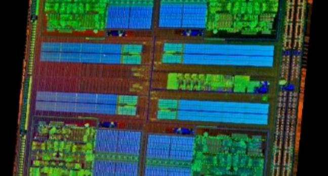 AMD Opteron 3200 die