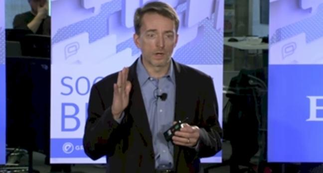 EMC president Pat Gelsinger