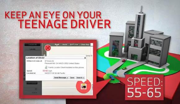 Verizon Family Locator: 'Keep an Eye on Your Teenage Driver'