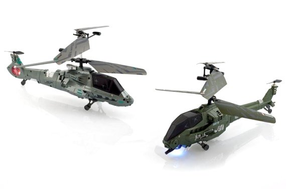 Battling Helicopters