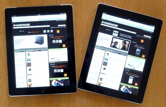 Apple New iPad vs iPad 2
