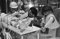 Inside the Google Lab where surgeons prepare the human/dog experiment