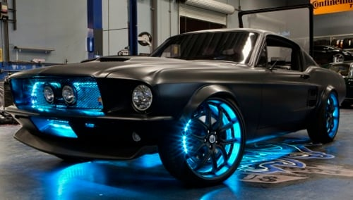 project Mustang Body