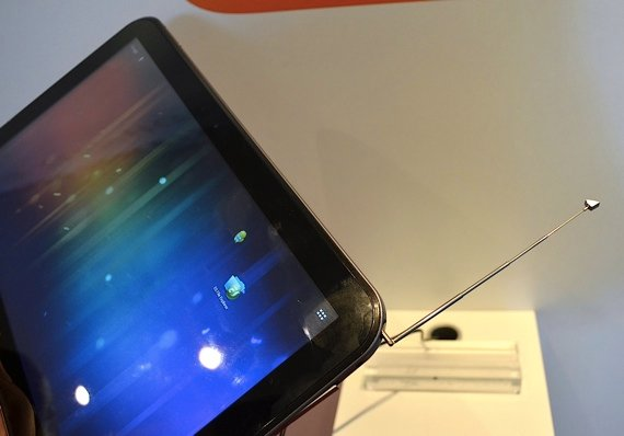 Toshiba 13in tablet with TV antenna