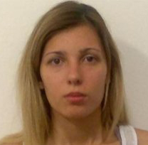 Police mugshot of Carina Geremias Vendramini