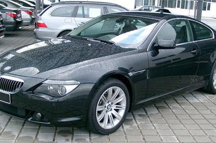 BMW 6 Series, image from Rudolf Stricker