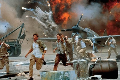 A still from cinematic masterpiece Pearl Harbor