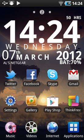 Samsung YP-G70CW Galaxy S WiFi 5.0