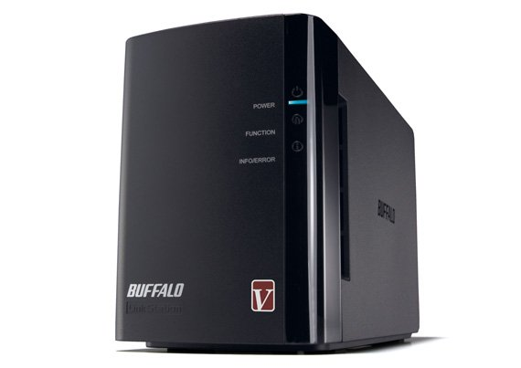 Buffalo LinkStation Pro Duo dual bay NAS drive