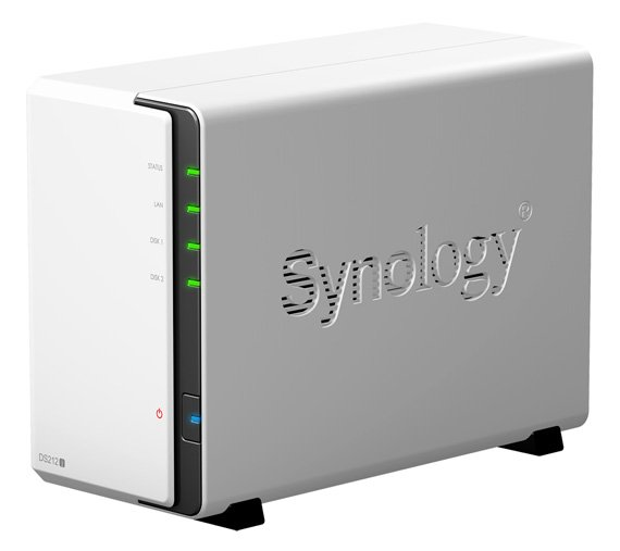 Synology Diskstation DS212J dual-bay NAS drive