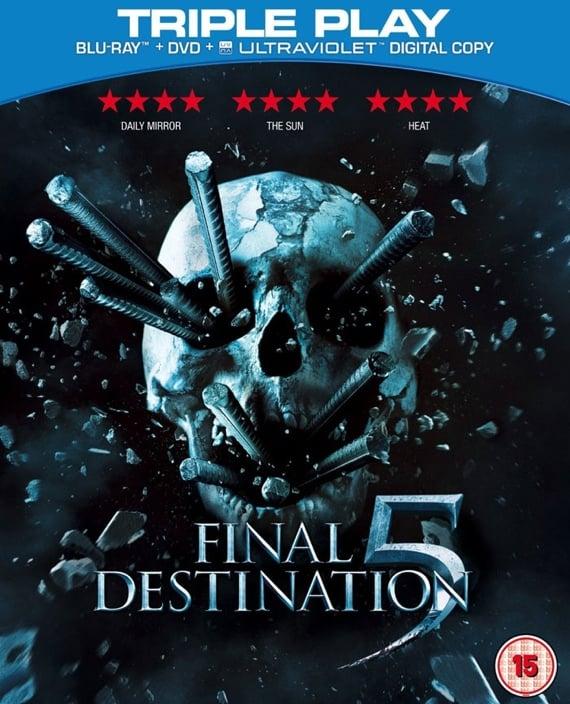Final Destination 5 triple-play Blu-ray Disc