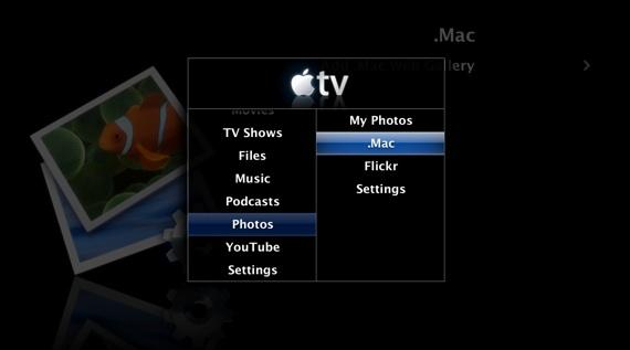 Apple TV first-and-a-bit-gen UI