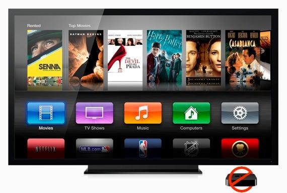 Apple TV sans set-top
