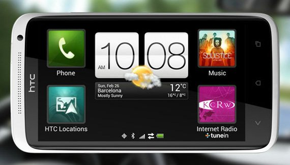 HTC One X quad-core Android smartphone