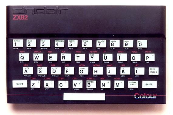 Sinclair ZX82 final design
