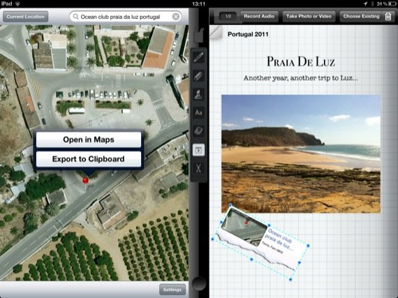 Tapose iOS app screenshot