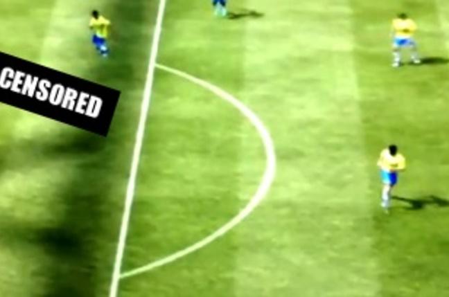 FIFA 12 goalie does it doggy style with strikerNetgear XAV5101