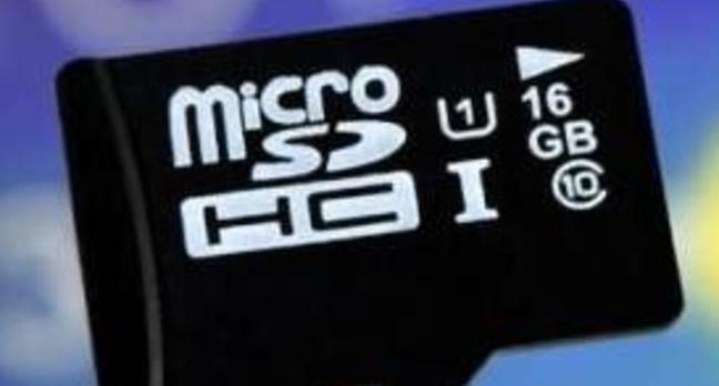 Samsung UHS-1 microSD card