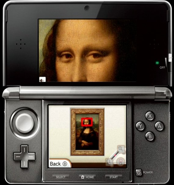 3DS guided tour of the Louvre