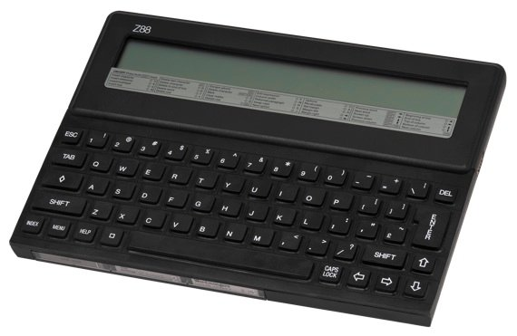 Sir Clive Sinclair's Cambridge Z88