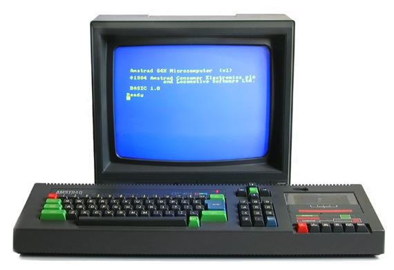 Amstrad CPC 464: Source: Wikimedia
