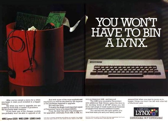 Camputers Lynx advert