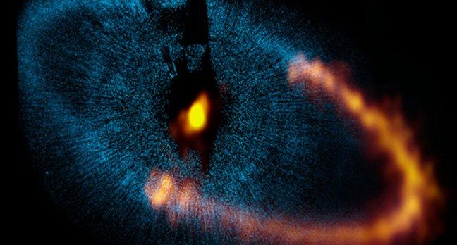 The dust ring around Fomalhaut