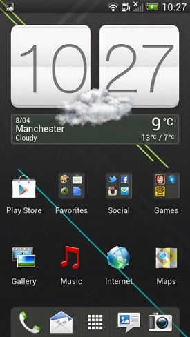 HTC One S Android smartphone