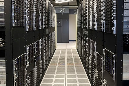 SoftLayer's data center