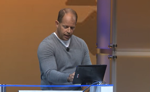 Brad Anderson's Windows 8 tablet