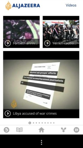 Google Currents Android app screenshot
