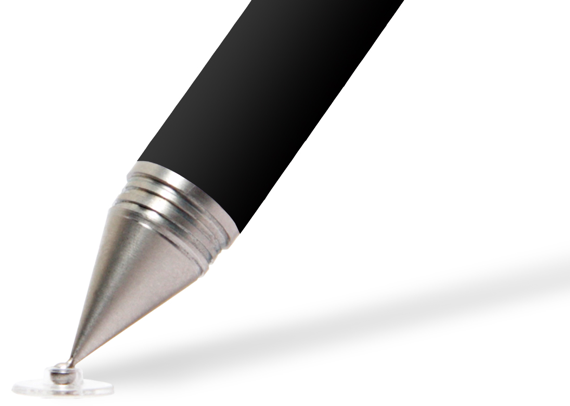 Capacitive styluses for writing, sketching and painting on the iPad