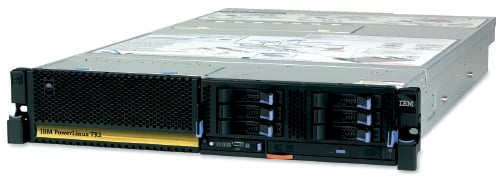 IBM PowerLinux 72R server