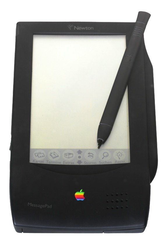 Apple's Newton MessagePad 100. Source: Wikimedia