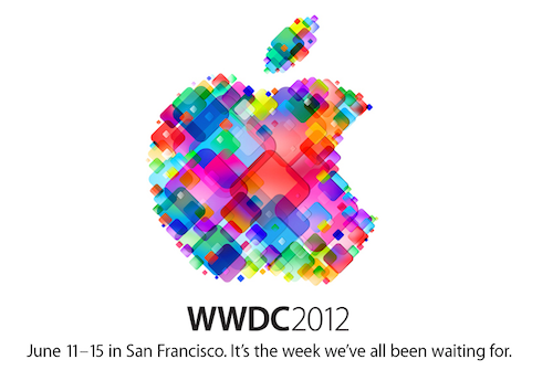 Apple WWDC 2012 poster, credit Apple