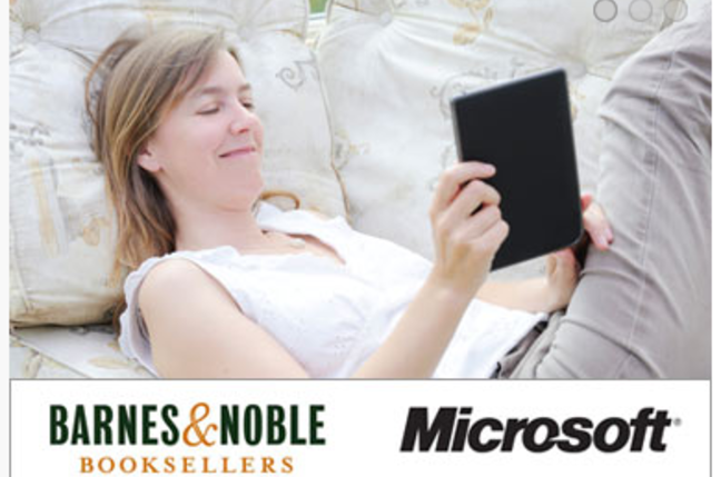 Barnes and Noble Microsoft deal, credit: Microsoft