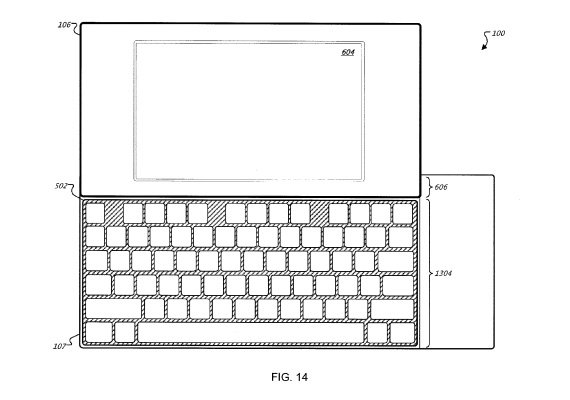 Google keyboard patent