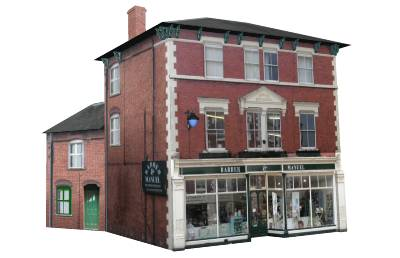 Leominster, Herefordshire, Google SketchUp model