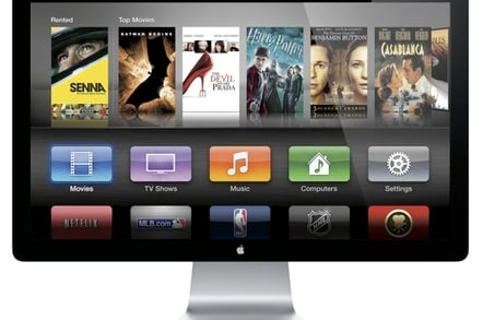 Apple Cinema Display with ATV UI
