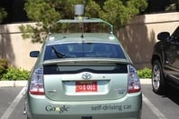 Nevada plate for Google car