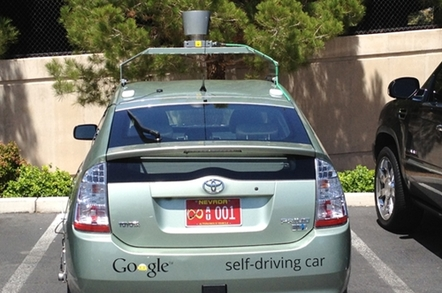 Nevada plate for Google car