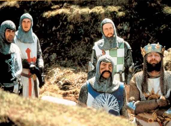 Monty Python and the Holy Grail Blu-ray disc