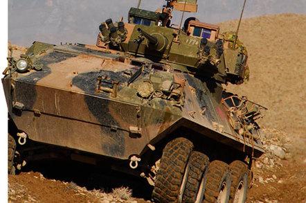 The Australian Light Armored Vehicle (ASLAV)