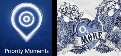 O2's two discount logos