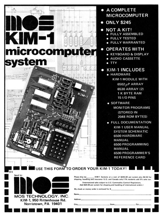 Commodore MOS Kim-1