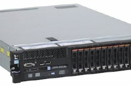 The System x3750 quad-socket server