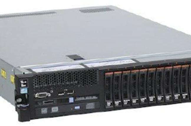 The System x3750 quad-socket server