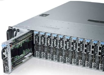 Dell's ARMed PowerEdge C5000 microserver chassis