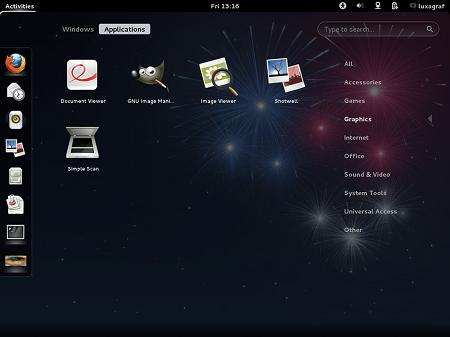 fedora17-gnome3-appscreen